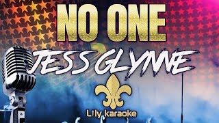 Jess Glynne - No One (Karaoke Version)