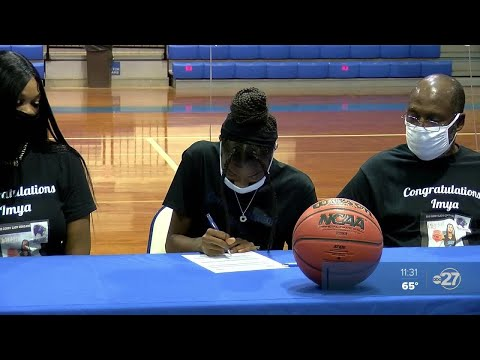 Godby's Imya Allen commits to Denmark Technical College