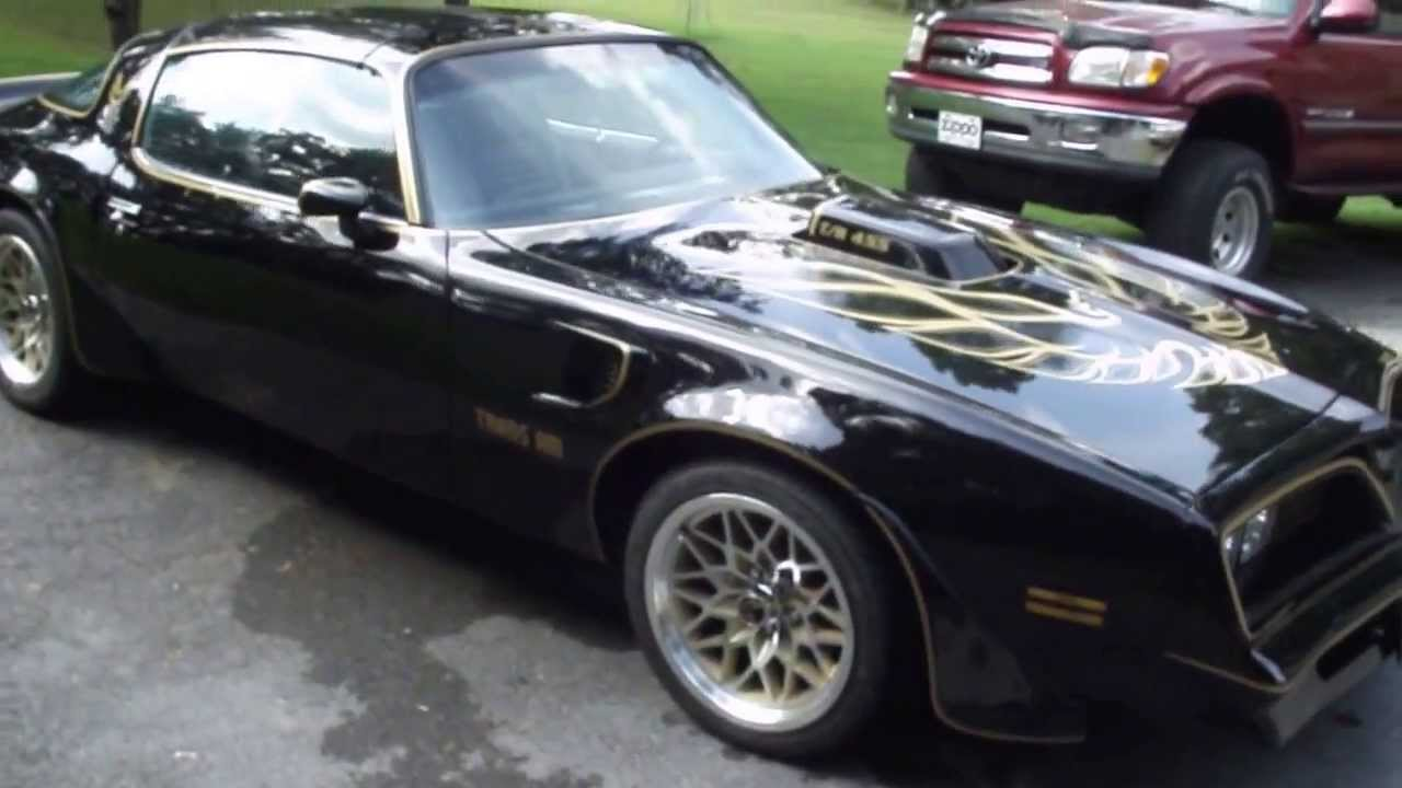 1978 Restored Trans Am With Rebuilt 455 And 4 Spd Youtube