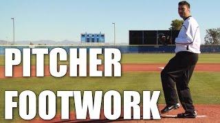 Armando Galarraga : Pitcher Footwork