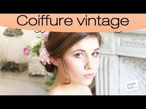 Réaliser une coiffure vintage