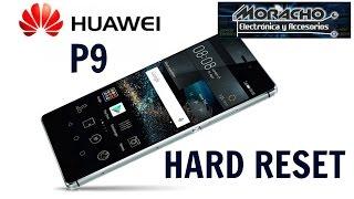 Huawei P9 borrado general, lento-virus