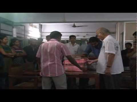TJS George Enriches Kerala Press Academy Library