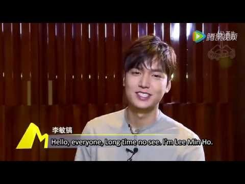 """Download Lee Min Ho """"Bounty Hunters"""" Interview 160517 [English subs]"""
