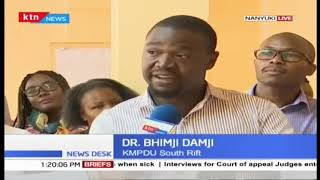 Developing: 61 Doctors laid off by County Government for absconding duty