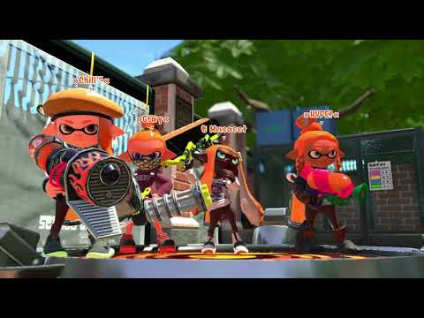 Squad with Legacy ! - Tower Control | Splatoon 2