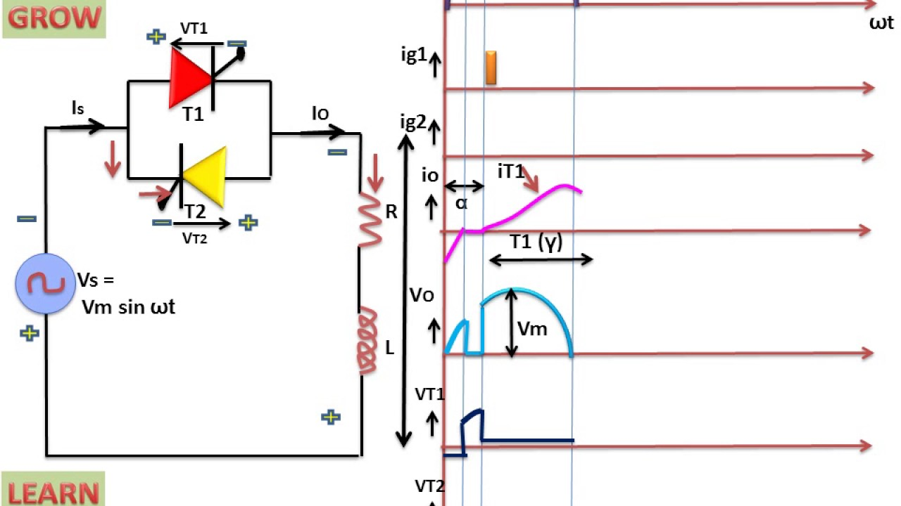 Single Phase Voltage Controller With Rl Load Learn Diac Triac Power Control Without Hysteresis And Grow