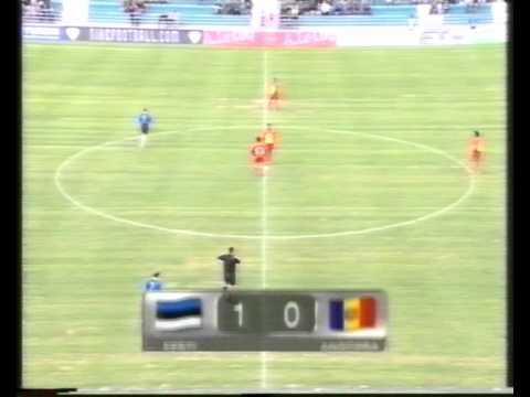Estonia 2:0 Andorra 2003
