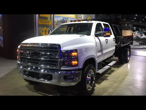 Closer look at the 2019 Chevy Silverado 6500HD with Monroe ...