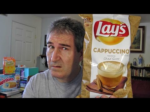 Lays Cappuccino Flavored Potato Chips REVIEW #DoUsAFlavor