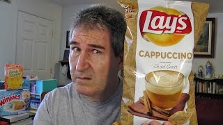 REVIEW: Lays Cappuccino Flavored Potato Chips #DoUsAFlavor