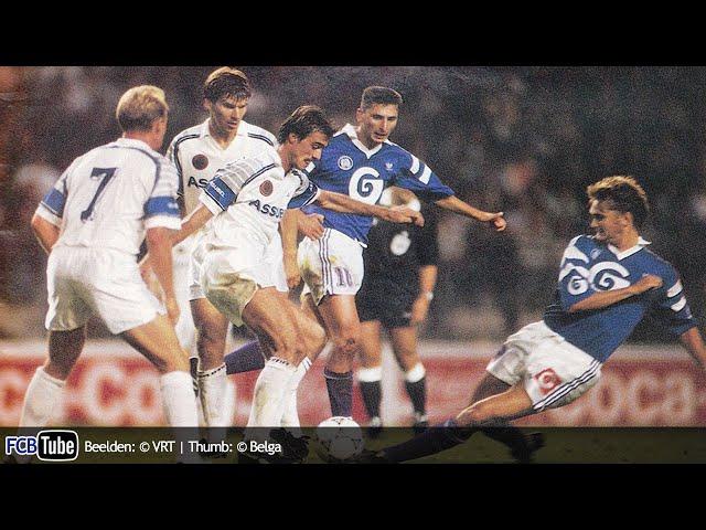 1991-1992 - Jupiler Pro League - 04. RSC Anderlecht - Club Brugge 1-1