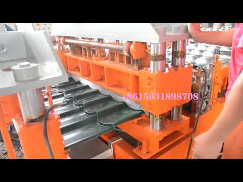 European  market roll forming machine video catalog-Ted +86 15031898708