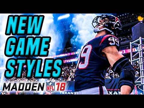 Madden 18 News | Game Styles Breakdown - Arcade, Simulation, Competitive