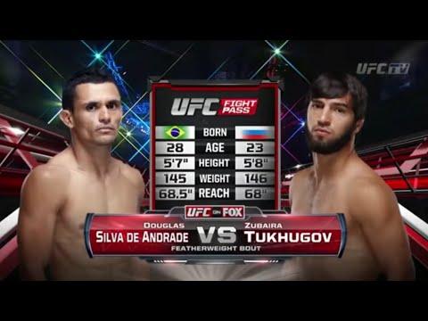 Zubaira Tuhugov vs. Silva de Andrade / Зубайра Тухугов vs Сильва де Андраде