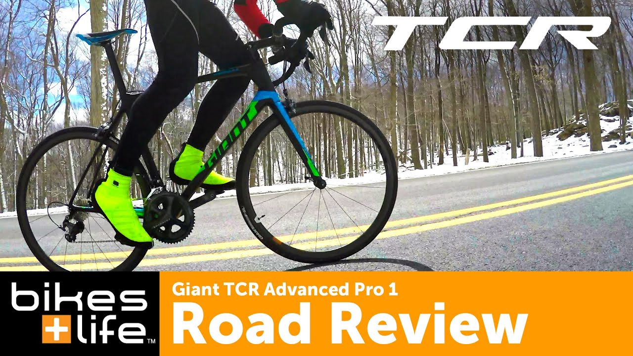 Giant Tcr Advanced Pro 1 Road Bike Review Youtube