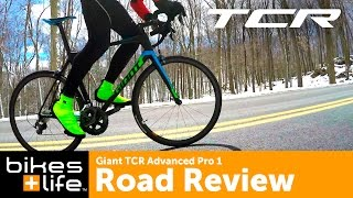 Giant TCR Advanced Pro 1 Road Bike Review