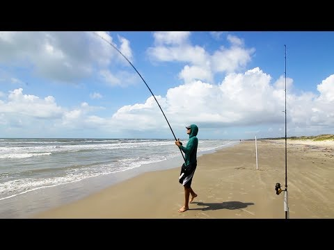 Fishing For Ugly Critters At The Beach - Surf Fishing