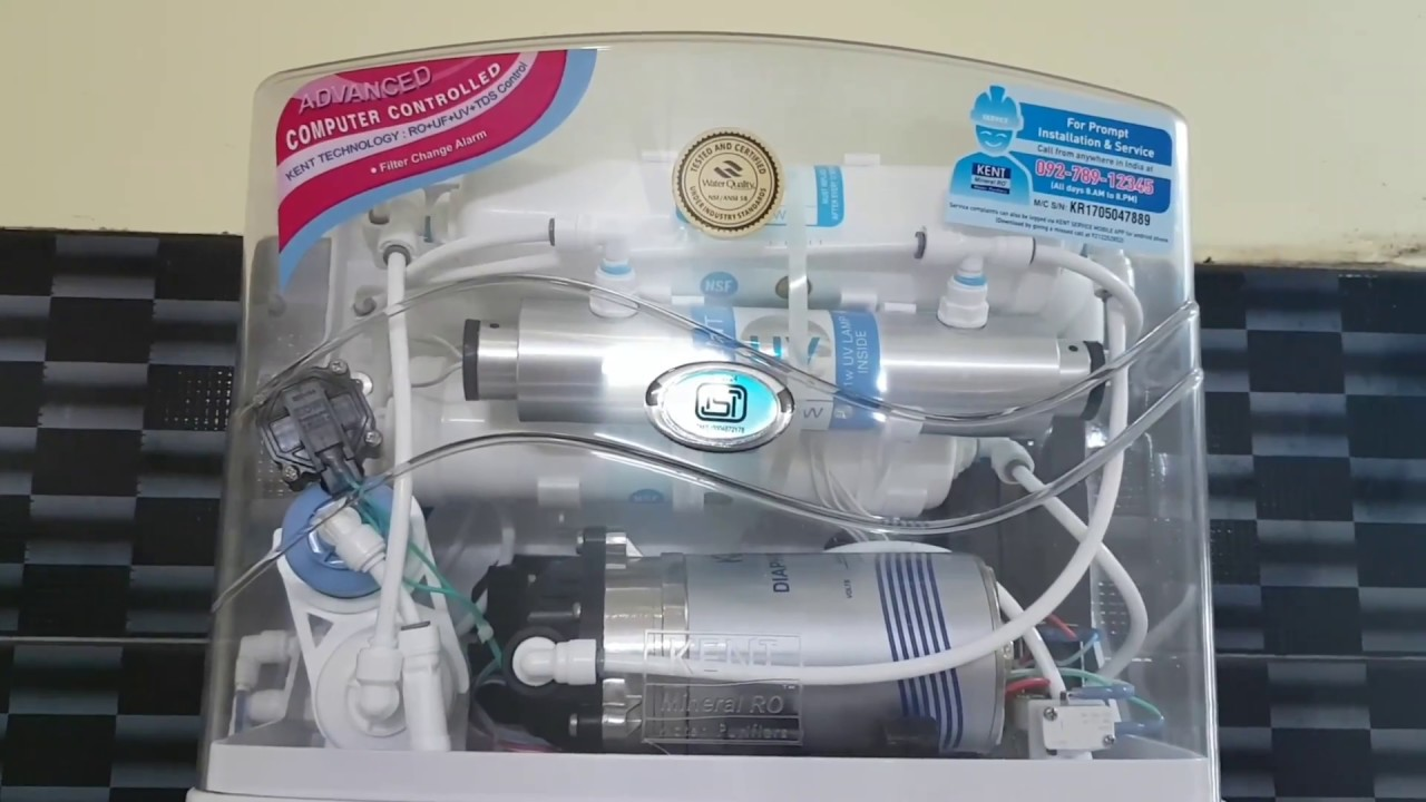 Kent Mineral RO Water Purifier Review in Telugu - YouTube