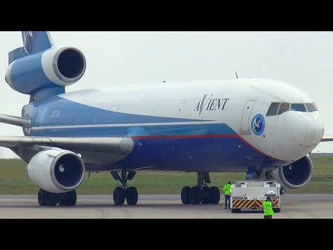 The last DC-10 in Europe! - Retirement flight before scrapping (HD)