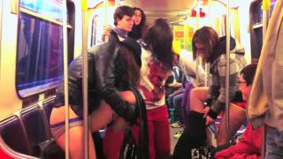 No Pants Subway Ride 2011 Vancouver (Official)