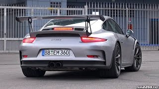 2015 Porsche 991 GT3 RS Exhaust Sound - Start Up, Rev and Accelerate