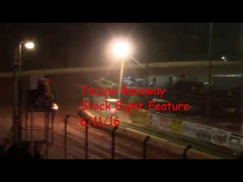 Toccoa Speedway Stock Eight Feature Race 6/11/16