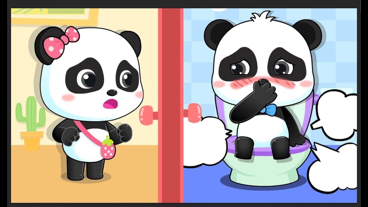 A Panda Bebé Le Duele Estómago | Canción Infantil | Hábitos Saludables | BabyBus Español