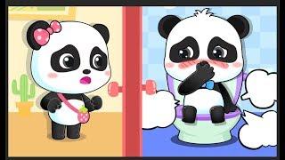Panda Bebé Se Tira El Pedo Maloliente | Canción Infantil | Hábitos Saludables | BabyBus Español