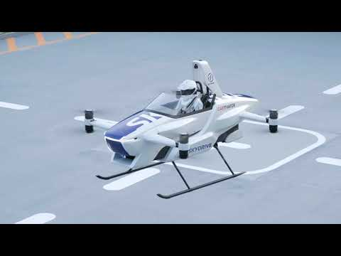World debut SkyDrive Manned Flight by SD-03 in the summer 2020 Full Version