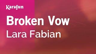Karaoke Broken Vow - Lara Fabian *
