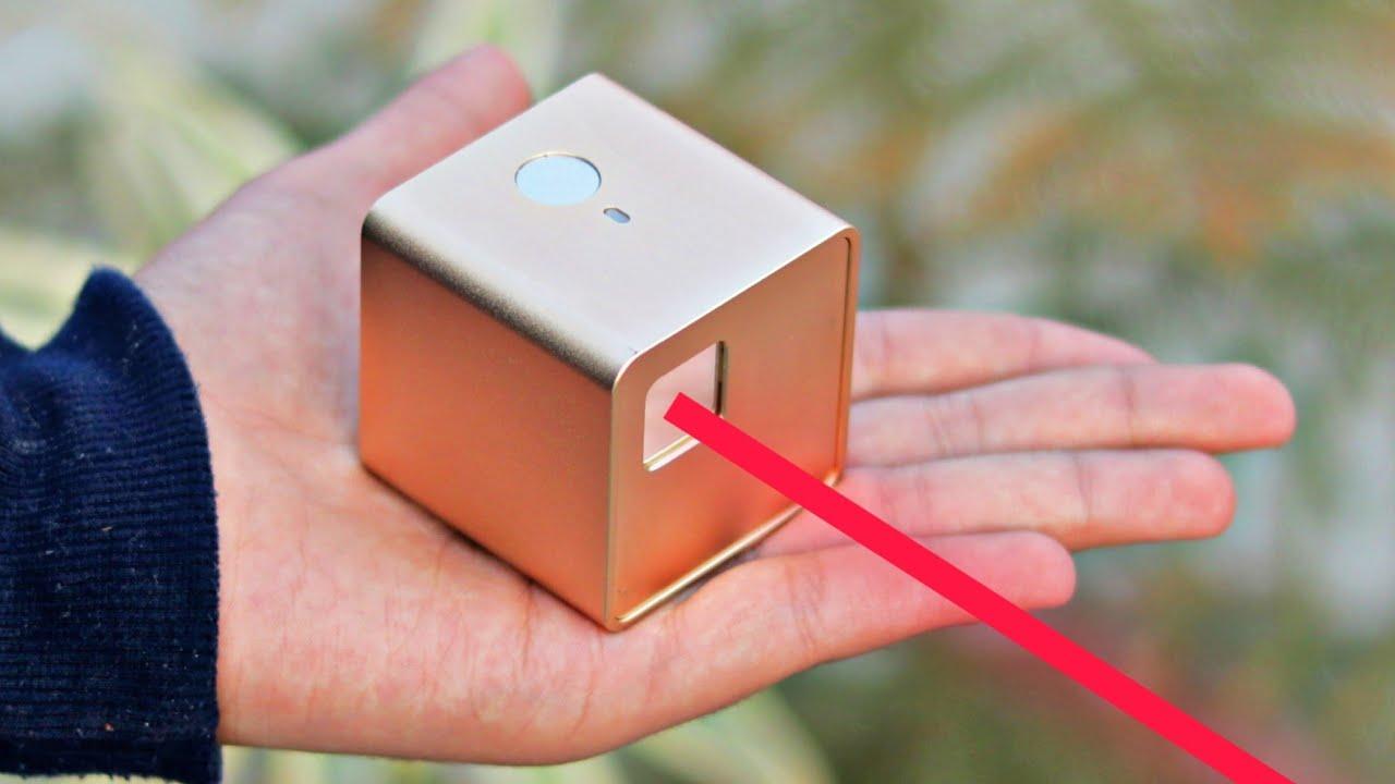 World's Smallest Laser Engraving Machine : Cubiio