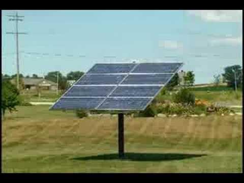 Wattsun Solar Tracker Time Lapse Youtube