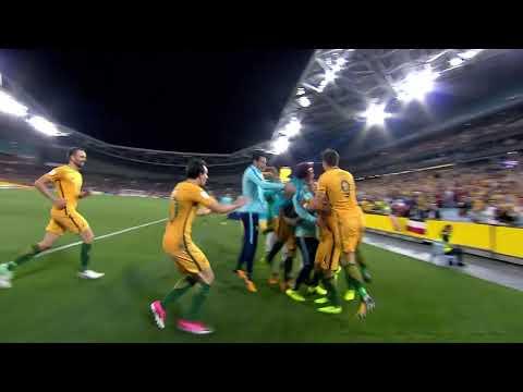 Tim Cahill puts Australia 2-1 up!