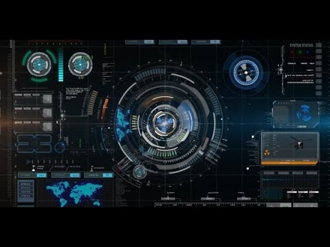 Futuristic Hud Interface Intro After Effects Template AEcs4cs5 YouTube