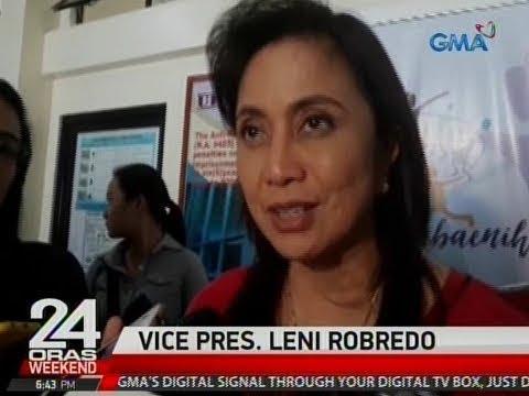 VP Robredo, iginiit na apektado ang lahat ng kandidato sakaling totoo ang isiniwalat ni Sen. Sotto