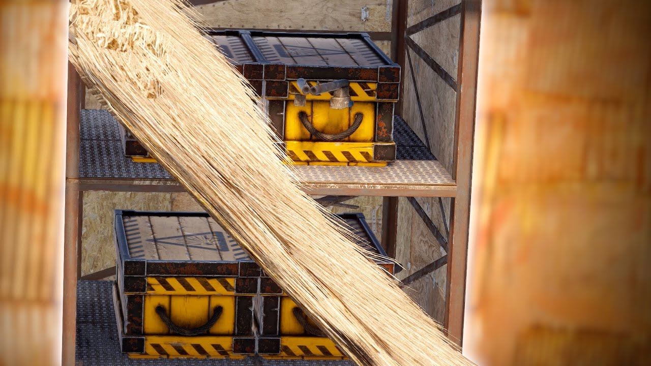 EXPERT BASE BUILD had SELF LOCKING LOOT ROOMS!