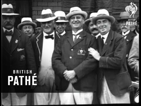 Australian Bowling Team (1922)