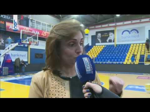 Riyadi vs Champville - Interview Zeina Arakji