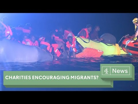 Are charities inadvertently encouraging migrant voyages?