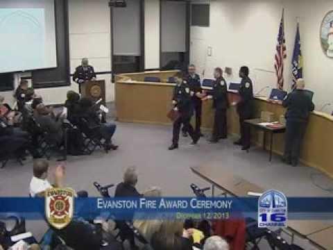 Evanston Fire Awards 2013