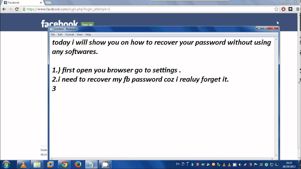 How to recover password from playlist 95