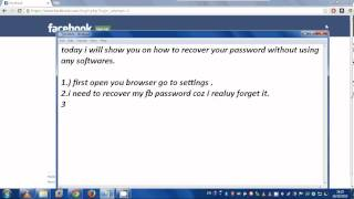 how to recover your facebook password   100easy