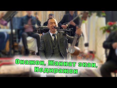 Mister Qaxa - Onajonim, Jannat ekan, Nodirajon (jonli ijro)