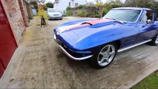 64 Corvette Resto Mod SRIII LS2 TKO500 Part 1