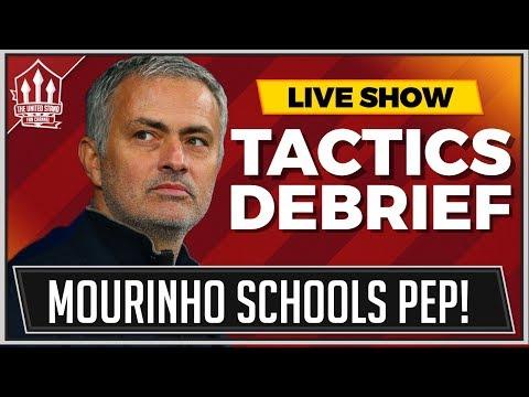 Mourinho's Man Utd Tactics MasterClass! Manchester City Manchester United Debrief