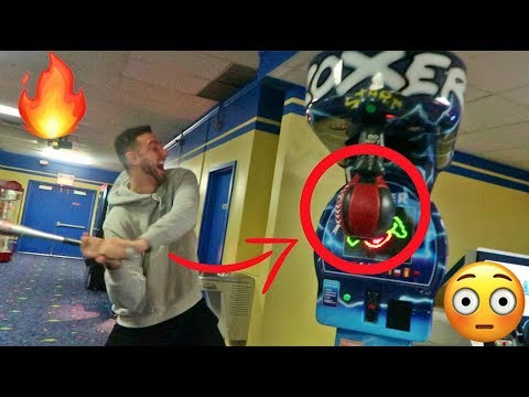 Winning The Arcade Punch Bag Jackpot! *New World Record*