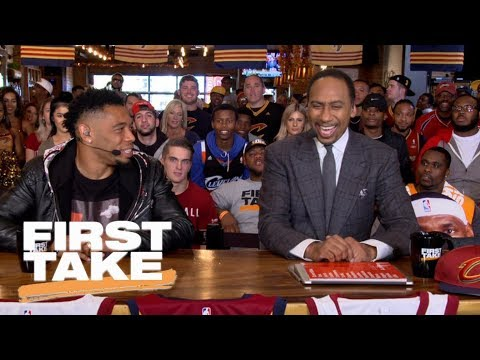 Stephen A. Smith: Warriors, Thunder, Celtics, Cavaliers in NBA Conference Finals | First Take | ESPN