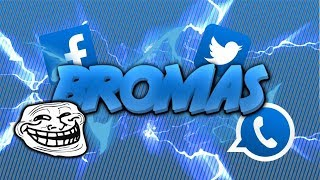 COMO  trollear tus amigos de facebook,whatsap,twitter, ETC.    2015