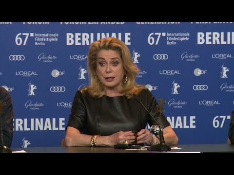 Cast, crew of 'The Midwife' present their film at the Berlinale